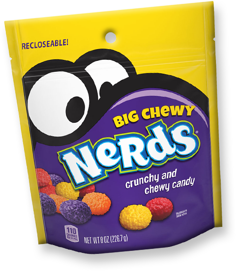 Big Chewy NERDS Candy Packaging