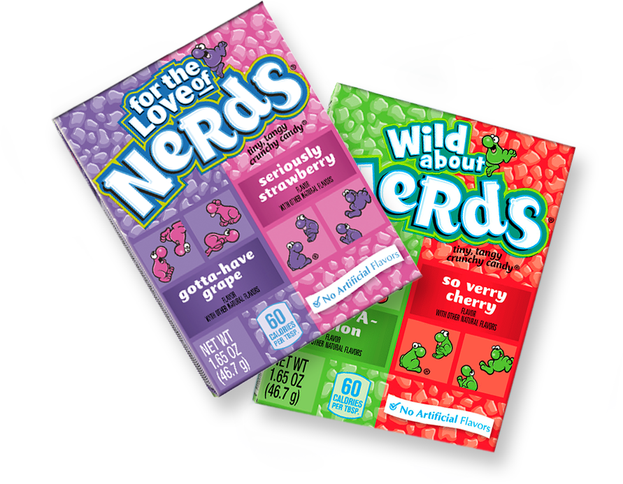 Tangy Crunchy NERDS Candy